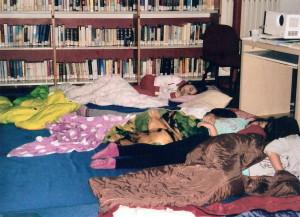 Notte in Biblioteca
